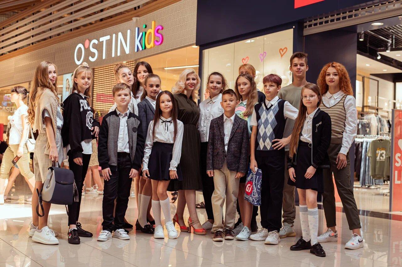 Модный показ школьных коллекций в ТЦ «Бобровский»